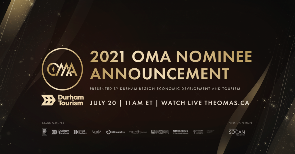 2021 OMA Nominee Announcement Banner